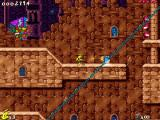 Jazz Jackrabbit 2: The Secret Files Windows Lori kills turtle