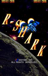 R-Shark Arcade Title screen