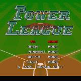 World Class Baseball Sharp X68000 Title screen