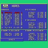 World Class Baseball Sharp X68000 Edit mode
