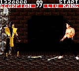 Mortal Kombat Game Gear Scorpion vs Liu Kang