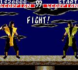 Mortal Kombat Game Gear Mirror match