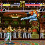 Fatal Fury Sharp X68000 Up against Richard Myer in Pao Pao Cafe