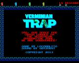 Verminian Trap Linux Title screen