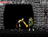 Mortal Kombat SEGA Master System Scorpions finishing move part 1