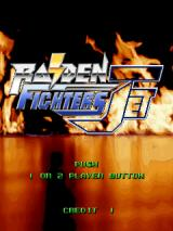 Raiden Fighters Jet Arcade Title screen