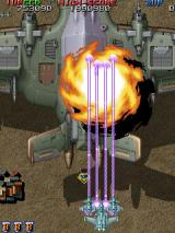 Raiden Fighters Jet Arcade Second boss