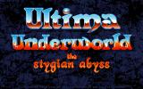 Ultima Underworld: The Stygian Abyss DOS Title screen