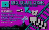 Big Blue Disk #54 DOS Title screen