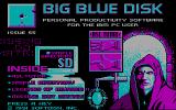 Big Blue Disk #55 DOS Title screen