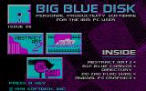 Big Blue Disk #56 DOS Title screen