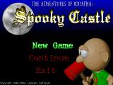The Adventures of Bouapha: Spooky Castle Windows Title screen (2004 Hammu website re-release)