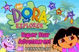 Dora the Explorer: Super Star Adventures Game Boy Advance Title screen