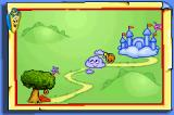 Dora the Explorer: Super Star Adventures Game Boy Advance Part of the world map