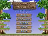 Froggy's Adventures Windows Main menu