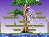 Froggy's Adventures Windows Level two: the lightning helps to kill the enemies