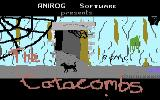 Catacombs Commodore 16, Plus/4 Title Screen
