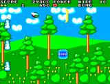 Fantasy Zone II SEGA Master System Shooting a wide beam