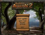 Runes of Avalon 2 Linux Title and main menu