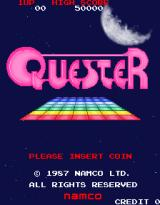 Quester Arcade Title screen