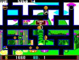 Fantasy Zone: The Maze SEGA Master System Get the coins quickly after you collect all dots