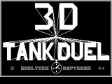 3D Tank Duel ZX Spectrum Title Screen.