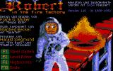 Robert in the Fire Factory Atari ST Title screen