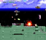 Strato Fighter Arcade New type of enemy