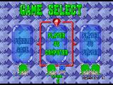 Bust-A-Move 2: Arcade Edition SEGA Saturn Selecting the game mode