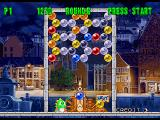 Bust-A-Move 2: Arcade Edition SEGA Saturn A stage in Puzzle mode, there is no computer opponent here.