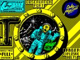 Super G-Man ZX Spectrum Loading Screen