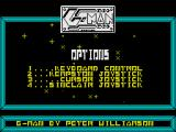 Super G-Man ZX Spectrum Title Screen