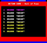 Ultima Zone Oric The Hall Of Fame