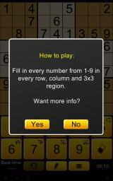 Sudoku Epic Android On the first game, players will get an explanation on how to play