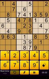 Sudoku Epic Android A game in progress