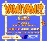 Yam! Yam!? Arcade Title Screen