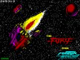 The Fury ZX Spectrum Loading Screen