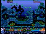 Fire & Ice Amiga Underwater level map
