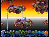 Fire & Ice Amiga Islands in the sky