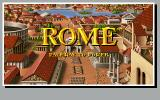 Rome: Pathway to Power DOS US title screen