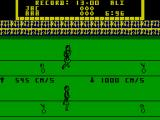 Track & Field ZX Spectrum 100m Sprint: Keep going