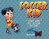 Soccer Kid Amiga Main Menu