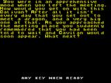 The Mines of Lithiad ZX Spectrum Start of your quest