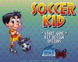 Soccer Kid Amiga Main Menu (AGA version)