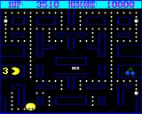 Pacman Amiga The ghosts' eyes are travelling back to their base