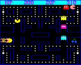 Pacman Amiga Playing a two player game