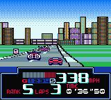 Jeff Gordon XS Racing Game Boy Color Attempting to overtake