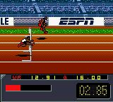 ESPN International Track & Field Game Boy Color 110m Hurdles