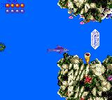 Ecco the Dolphin Game Gear Shoot sonar at crystal and