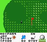 Hole in One Golf Game Boy Color On the green